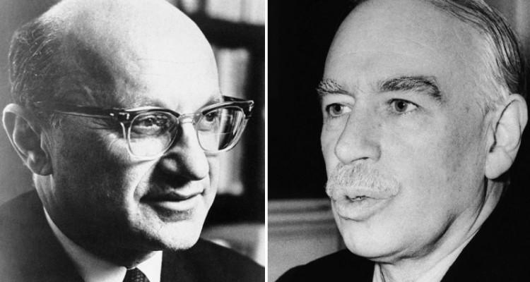 Keynes and Friedman